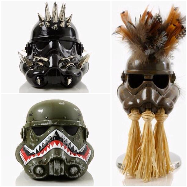 Creepy And Creative Custom Stormtrooper Helmets GeekTyrant