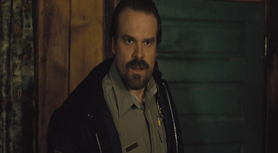 David Harbour Fulfills a Promise He Made Earlier This Year