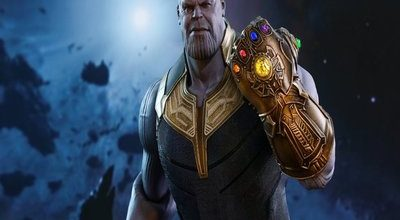 Marvel Posts BTS Image of Thanos Original Look for 'Avengers' Cameo