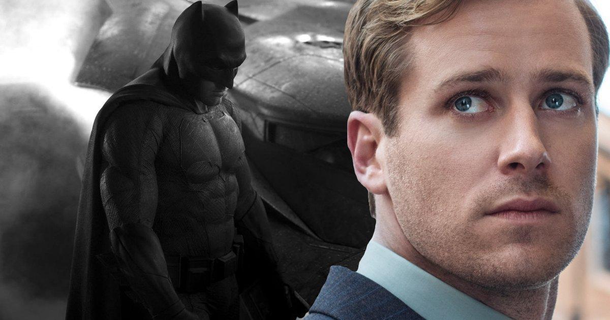Armie Hammer Describes His Batman From Justice League ...