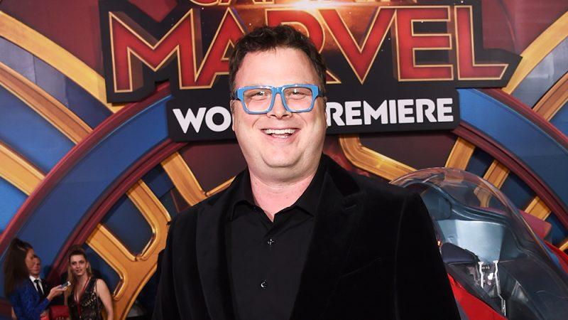 Photo by Michael Buckner/Variety/REX/Shutterstock (10138998fd) Erik Olseon 'Captain Marvel' Film Premiere, Roaming Arrivals, El Capitan Theatre, Los Angeles, USA - 04 Mar 2019