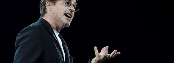 Robert Downey Jr. Announces The Footprint Coalition During Amazon's Re:Mars Conference