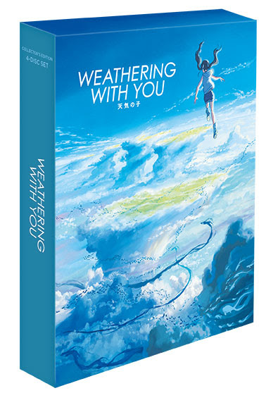 Weathering With You To Get 4k Uhd Release In Upcoming Collector S Edition