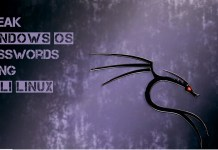 Reset Windows Password using Kali Linux