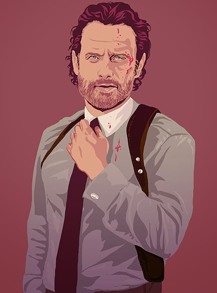 οι πρωταγωνιστές του The Walking Dead