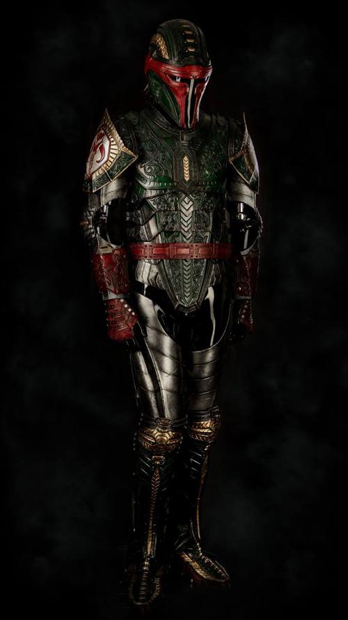 Medieval Boba Fett Armor