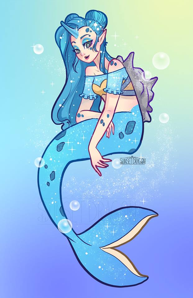 Pokemon As Mermaids Fan Art
