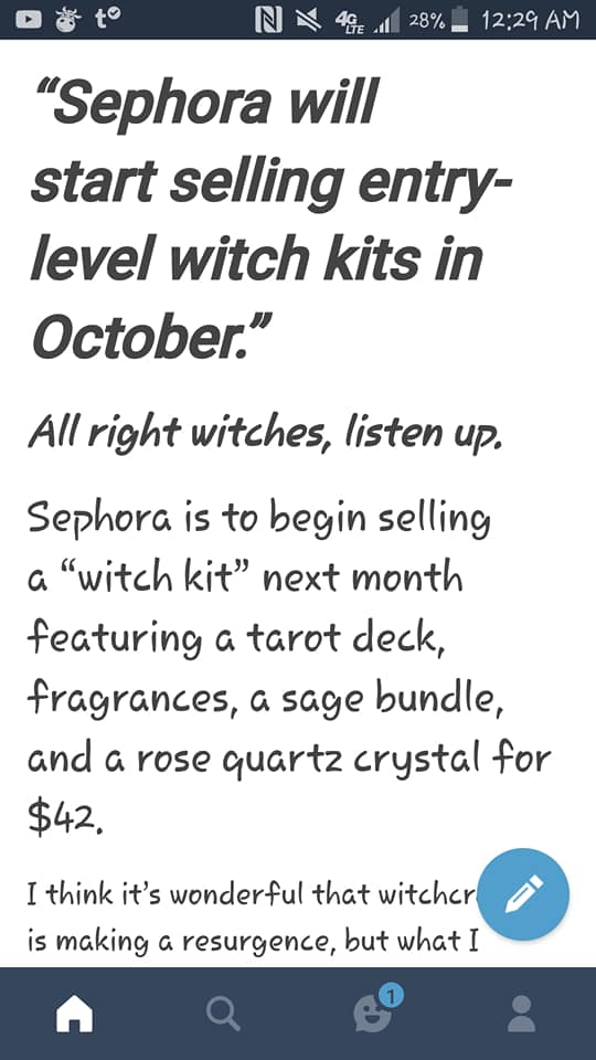 Reasons To Not Buy Sephoras Witch Kits