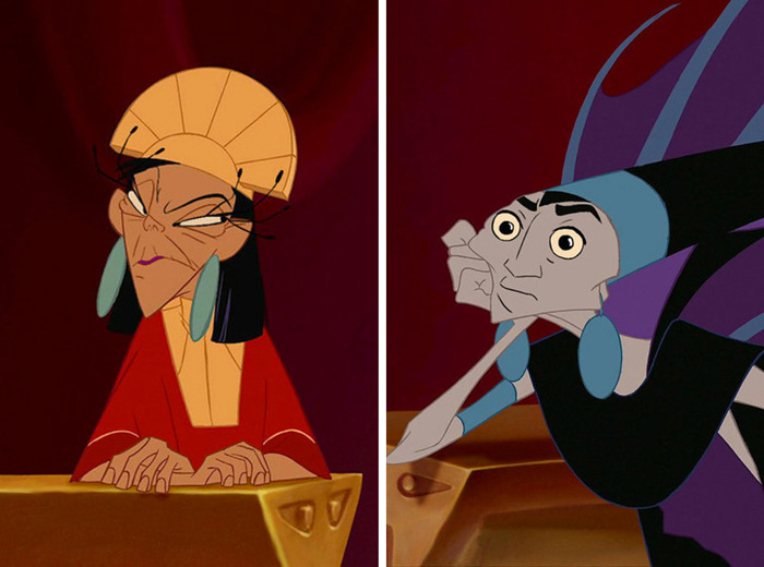 Hilarious Disney Heroes Amp Villains Face Swapped