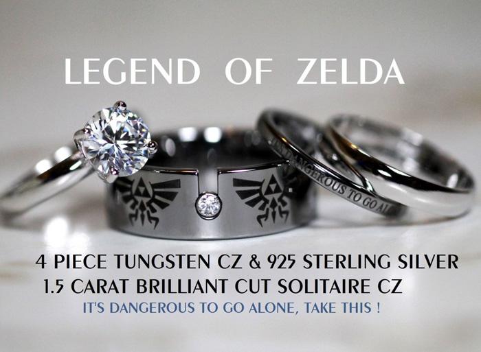 The Legend Of Zelda Rings