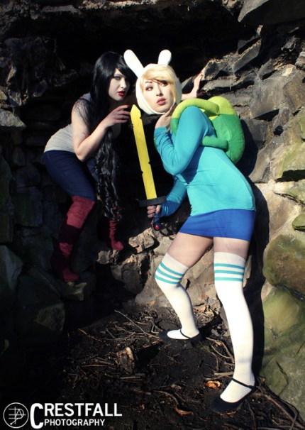 Fiona & Marceline from Adventure Time Cosplay