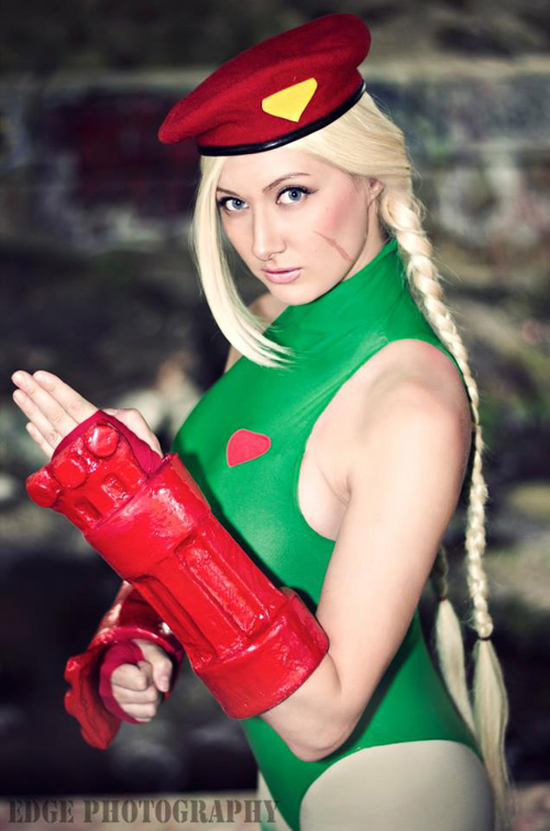 Cammy Street Fighter Cosplay