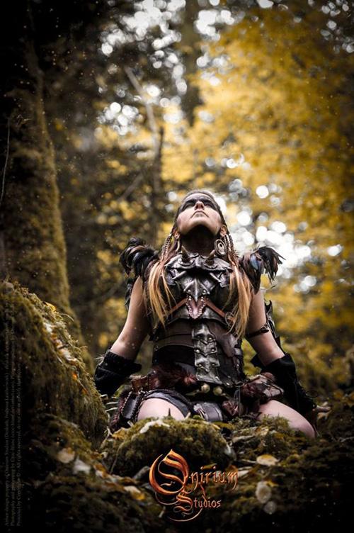 Barbarian Armor Photoshoot