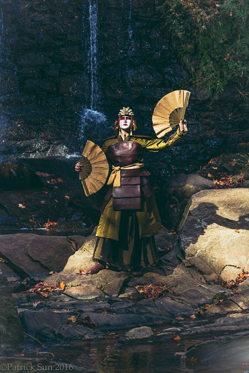 Kyoshi Warrior From Avatar The Last Airbender Cosplay