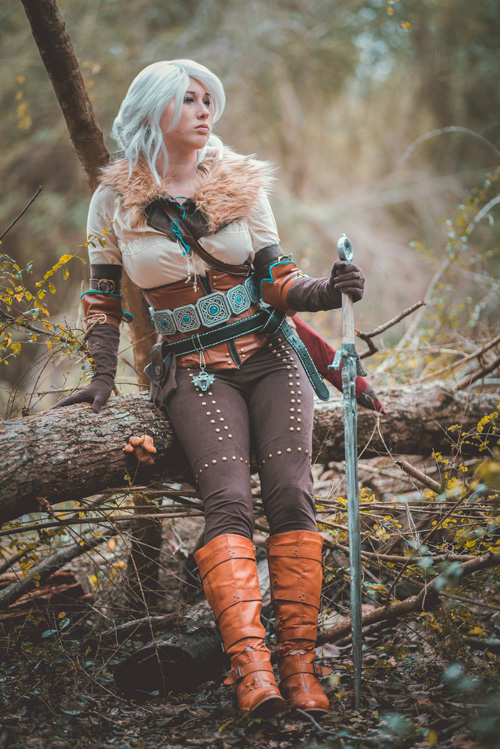 Ciri From The Witcher 3 Cosplay