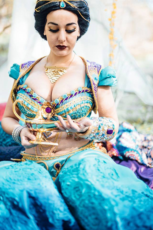Jasmine Cosplay