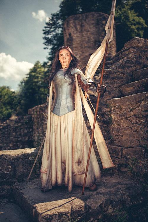 Joan Of Arc Cosplay