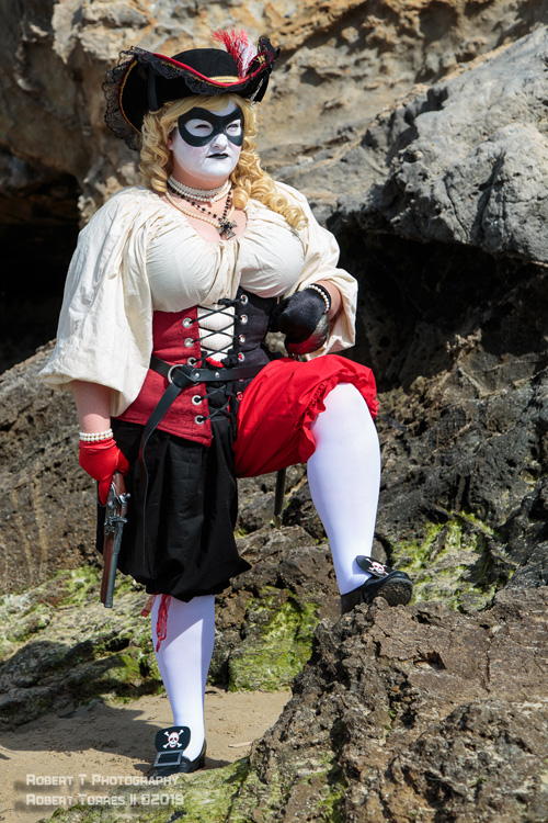 Pirate Harley Quinn Cosplay