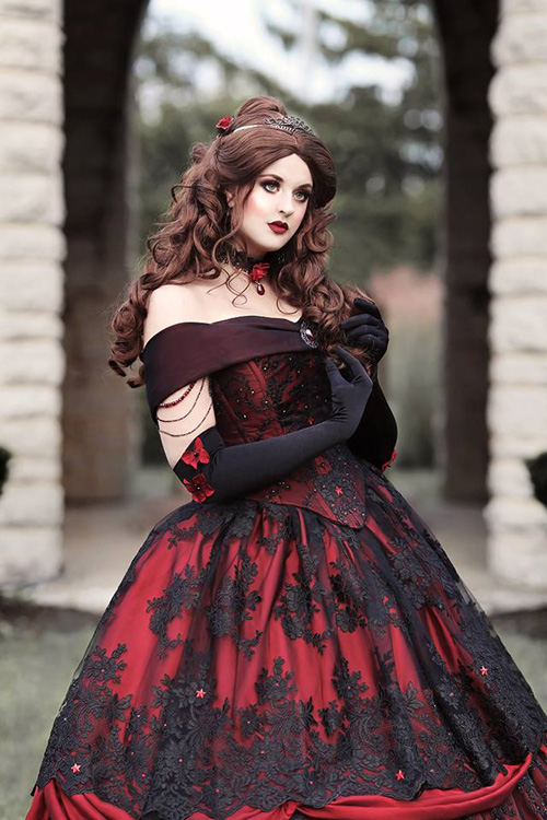 Gothic Belle Photoshoot