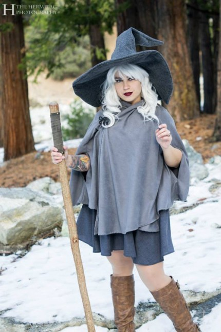Female Gandalf Cosplay