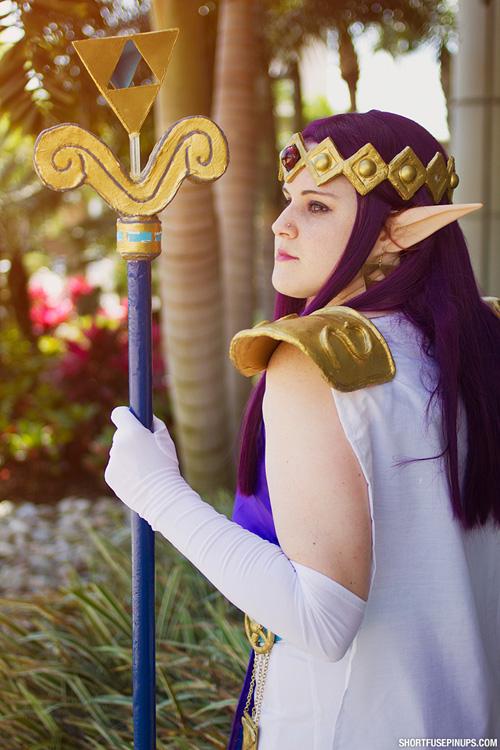 Hilda From The Legend Of Zelda Cosplay