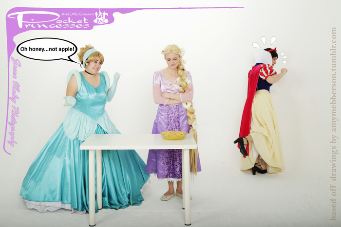 Pocket Princesses Group Cosplay