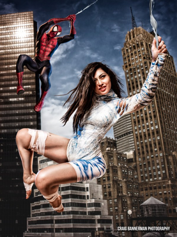 Silk & Spider-Man Cosplay
