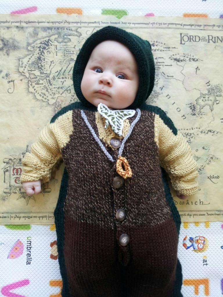 Baby Hobbit costume