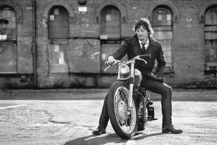 Norman Reedus Men's Fitness mag