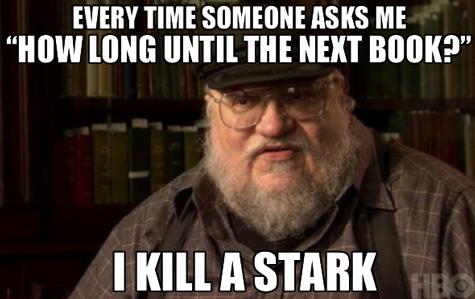 George R.R. Martin Kills Starks