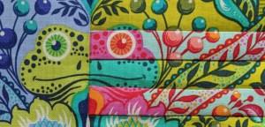fussy cut tutorial tula pink all stars frog fabric tula pink city sampler quilt block
