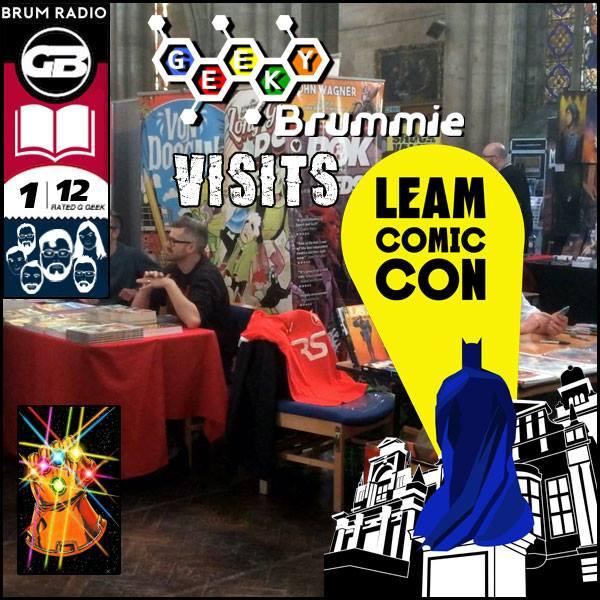 GeekyBrummie LeamComicCon