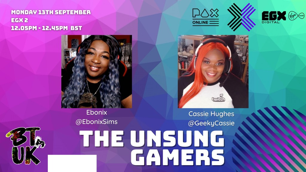 EGX Panel: The Unsung Gamers