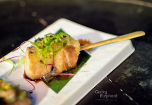 Savour 2015: Kudeta Singapore—Pork Belly Lollipop with Apple Jelly