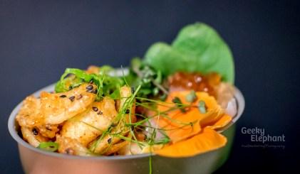 Savour 2015: Ku De Ta—Swordfish Sashimi with Truffles and Ikura