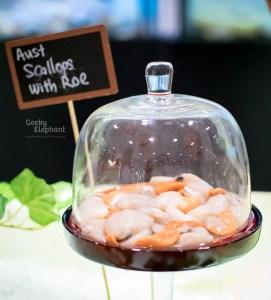 Savour 2015: Gourmet Food Hall—Scallops