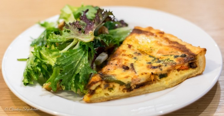 Baker & Cook: Salmon Quiche