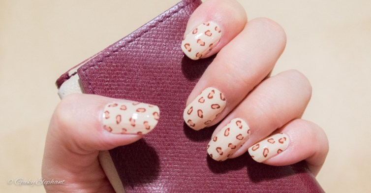 Incoco Coconut Nails: Leopard Print