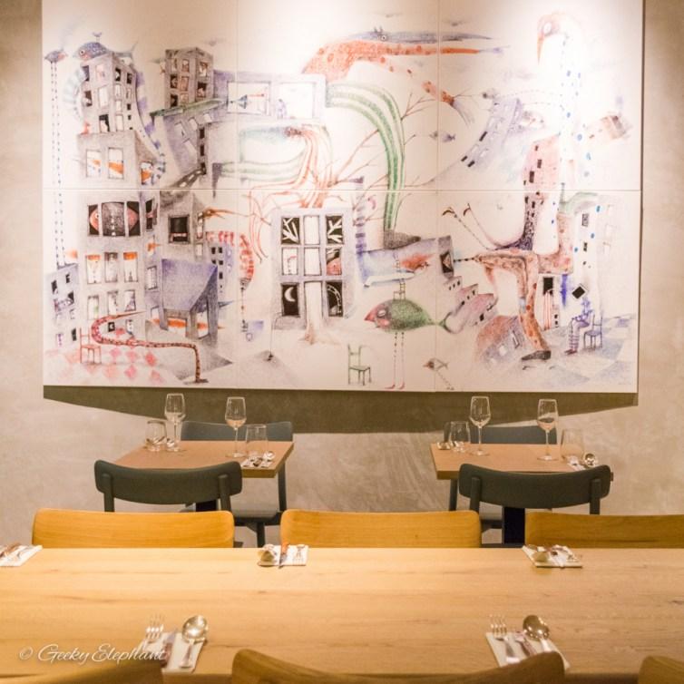 Ricciotti Pizza Pasta Grill: Interior