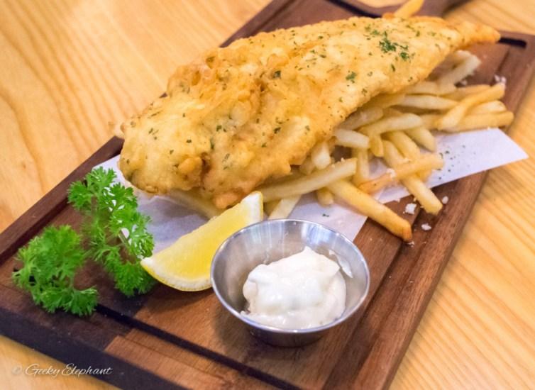 Ambush: Signature Fish & Truffle Chips