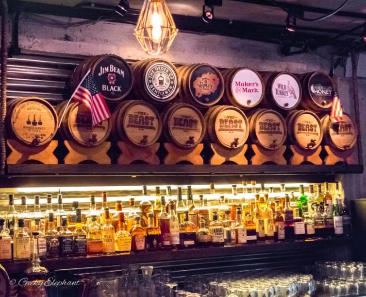 The Beast: Bourbon Bar