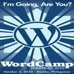WordCamp Philippines 2010 Here I Come!