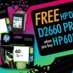 Promos: FREE HP Deskjet D2660 Printer