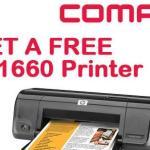 Promos: Get a Free HP D1660 Printer
