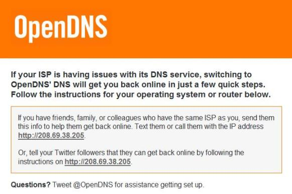 OpenDNS Solution