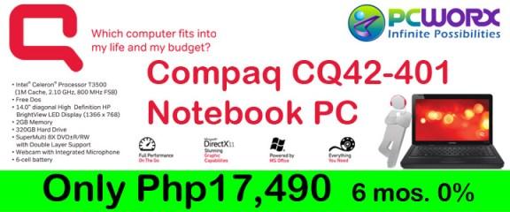 Compaq CQ442-401