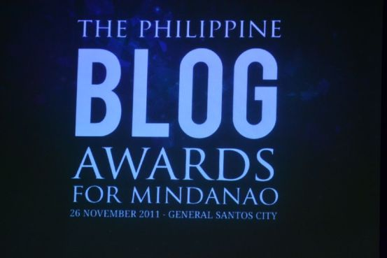 The Philippine Blog Awards for Mindanao 2011