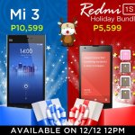 Buy a Mi phone on December 12 and win a Mi 4 or Redmi Note 4G