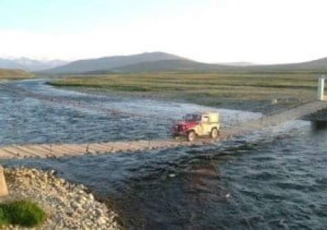 Deosai National Park trail
