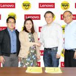 Lenovo and TAYO Awards foundation strike partnership deal
